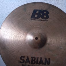 "Instrumentos musicales: ** PLATO SABIAN 16"" THIN CRASH **. Lote 266849589"