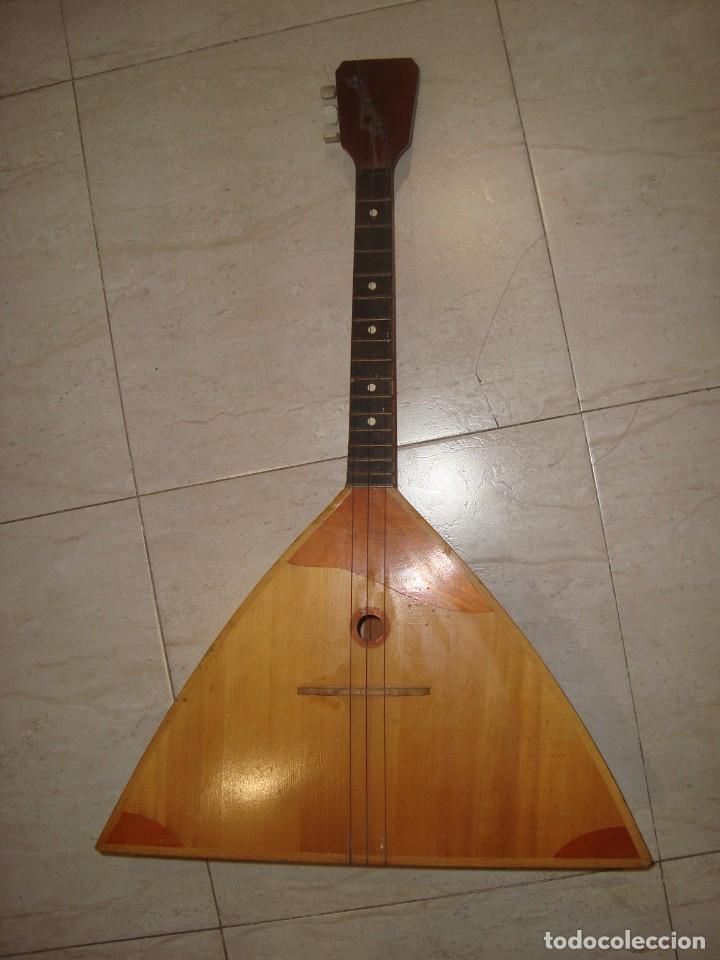 BALALAICA RUSA 3 CUERDAS GUITARRA DE CUERDAS (Música - Instrumentos Musicales - Cuerda Antiguos)