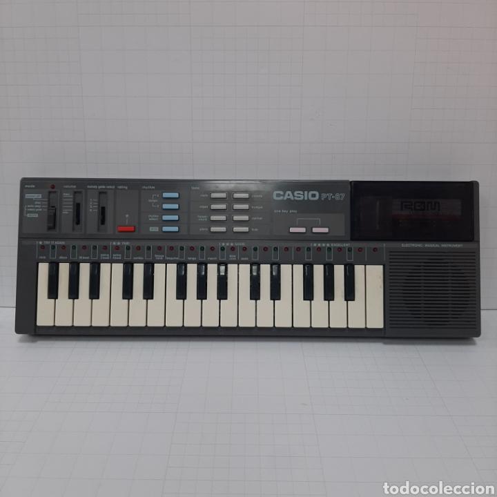 Instrumentos musicales: Piano eléctrico CASIO PT-87 - Foto 2 - 267506849