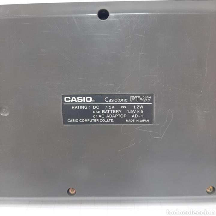 Instrumentos musicales: Piano eléctrico CASIO PT-87 - Foto 4 - 267506849