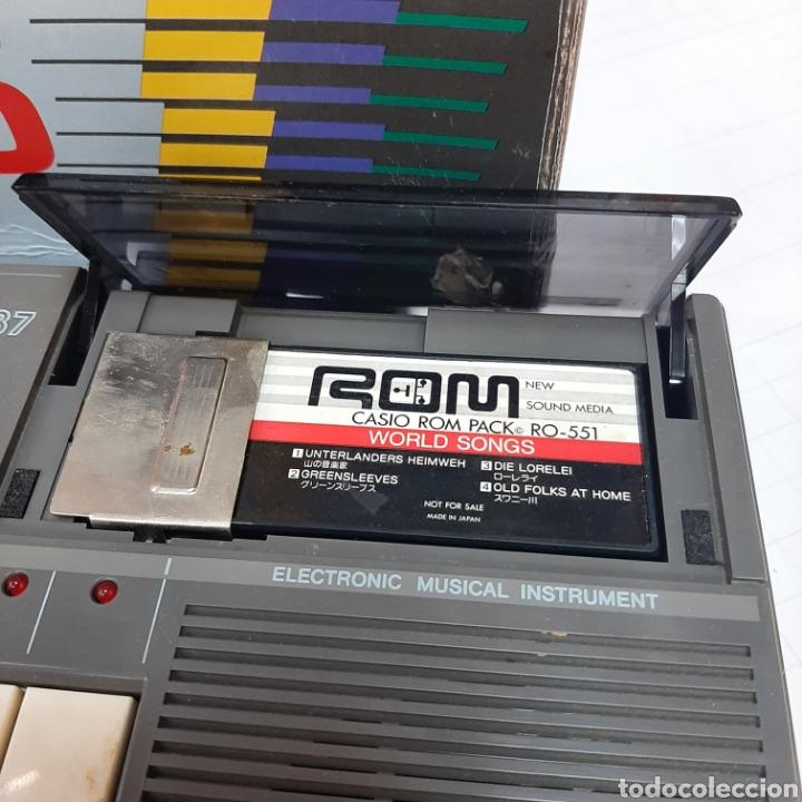 Instrumentos musicales: Piano eléctrico CASIO PT-87 - Foto 10 - 267506849