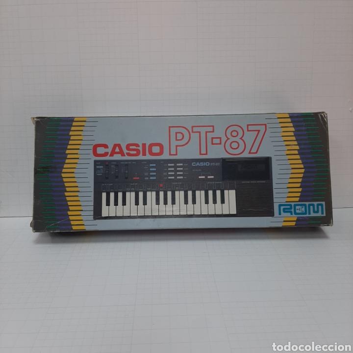PIANO ELÉCTRICO CASIO PT-87 (Música - Instrumentos Musicales - Teclados Eléctricos y Digitales)