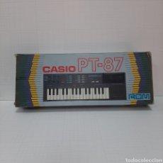 Instrumentos musicales: PIANO ELÉCTRICO CASIO PT-87. Lote 267506849
