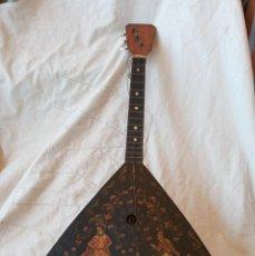 Instrumentos musicales: BALALAIKA DE 3 CUERDASRUSIA. Lote 267591474