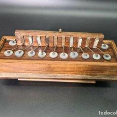 Instrumentos Musicais: ANTIGUO ACORDEON, CONCERTINA, FLUTINA, FRANCÉS, CIRCA 1860, ORIGINAL,. Lote 268255024