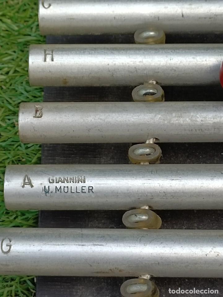 Instrumentos musicales: Xilófono de la firma U.Muller - Foto 3 - 268275724