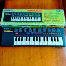 Instrumentos musicales: TECLADO CASIO SA-1. Lote 268417024