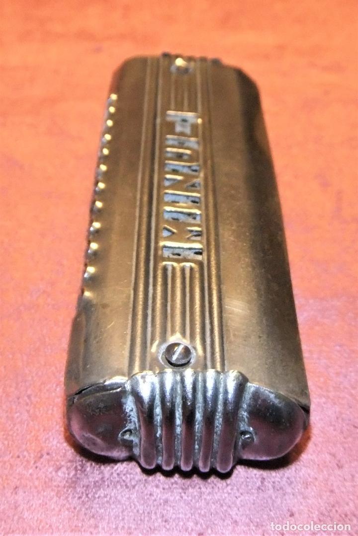 Instrumentos musicales: ANTIGUA ARMÓNICA MARCA MINUE DE LOS AÑOS 30/40 - Foto 5 - 268996444