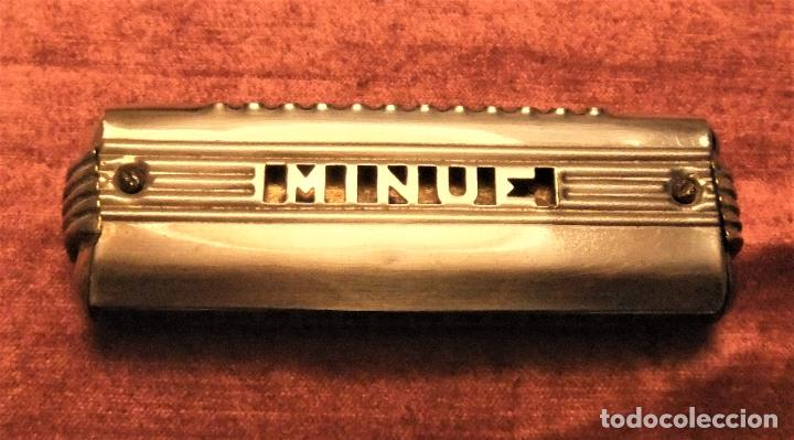 ANTIGUA ARMÓNICA MARCA MINUE DE LOS AÑOS 30/40 (Música - Instrumentos Musicales - Viento Madera)