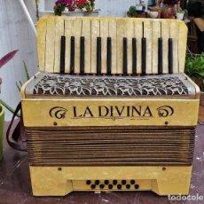 Instrumentos musicales: ACORDEÓN HOHNER LA DIVINA - MADE IN GERMANY. Lote 269081683