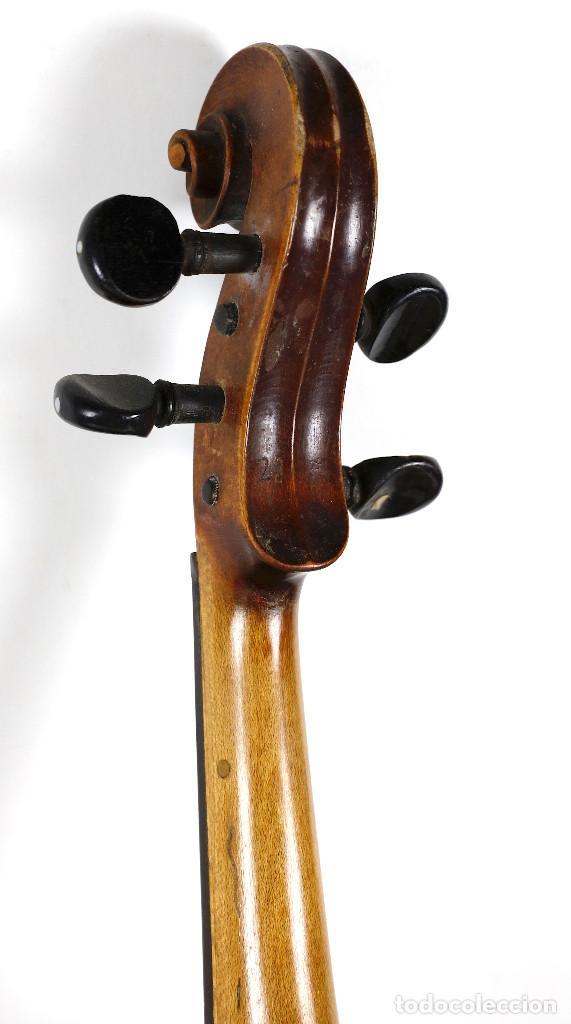 Instrumentos musicales: ANTIGUO VIOLÍN EN ESTUCHE - EN BUEN ESTADO APARENTE. - Foto 6 - 269163248