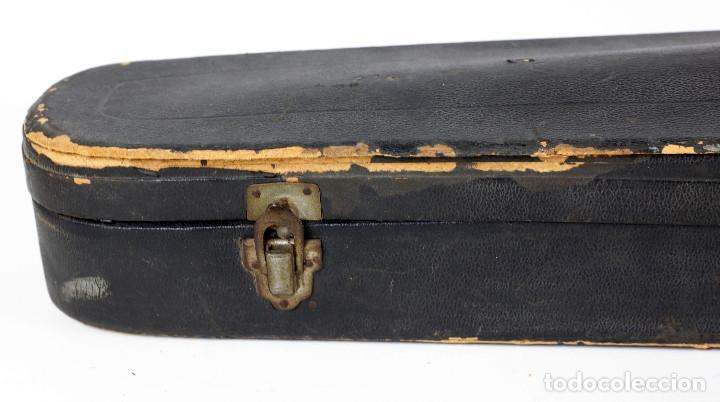 Instrumentos musicales: ANTIGUO VIOLÍN EN ESTUCHE - EN BUEN ESTADO APARENTE. - Foto 11 - 269163248