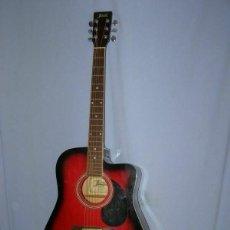 """Instrumentos musicales: GUITARE FOLK 6 CORDES """"JERVIS MODÈLE JA-41 CRD"""". Lote 269253208"""