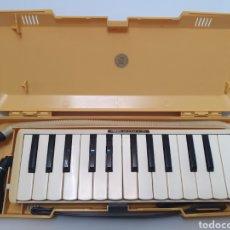 Instrumentos musicales: YAMAHA. PIANICA 25. MADE IN JAPAN. AÑO 70. CHAPA, MADERA Y PLASTICO. FUNCIONA PERFECTO. MELODION.. Lote 269394493