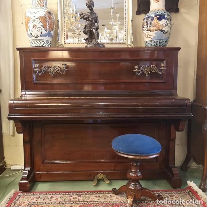 PIANO PIAZZA SEVILLA (Música - Instrumentos Musicales - Pianos Antiguos)