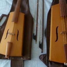 Instrumentos musicales: VIOLAS DE PIERNA ALTO Y SOPRANO,MAESTRO KARL BRANDNER. Lote 269456508