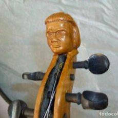 Instrumentos musicales: VIOLÍN DEL XIX STAINER CON TALLA DE CABEZA. Lote 269462353