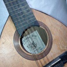 Instrumentos musicales: BANDURRIA ANTIGUA MARIANO BIU. Lote 269478508