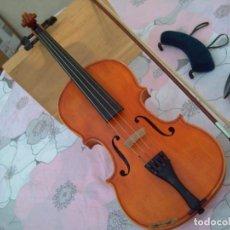 Instrumentos musicales: PRECIOSO, ANTIGUO VIOLÍN 4/4 EN PERFECTO ESTADO, INCLUYE ARCO Y ALMOHADILLA PARA EL HOMBRO. Lote 270154833