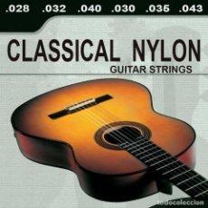 Instrumentos musicales: CUERDAS GUITARRA CLÁSICA ESPAÑOLA NYLON. Lote 270244363