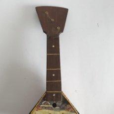 Instrumentos musicales: INSTRUMENTO MUSICAL BALALAIKA ARTESANAL. Lote 270545298