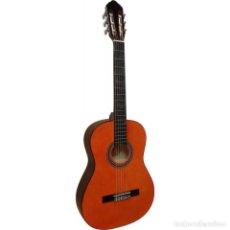 Instrumentos musicales: GUITARRA CLASICA ESPAÑOLA TAPA NARANJA OFERTA BUEN SONIDO. Lote 270984428
