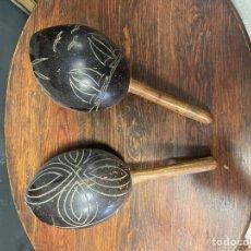 Instrumentos musicales: MARACAS ORIGINALES. Lote 271071073