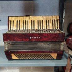 "Instrumentos musicales: ACORDEÓN HOHNER ""PARA RESTAURAR O PIEZAS"". Lote 271532008"