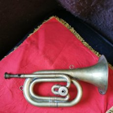 Instrumentos musicales: CORNETA HONSUY ORIGINAL, ANTIGUA.. Lote 271805548
