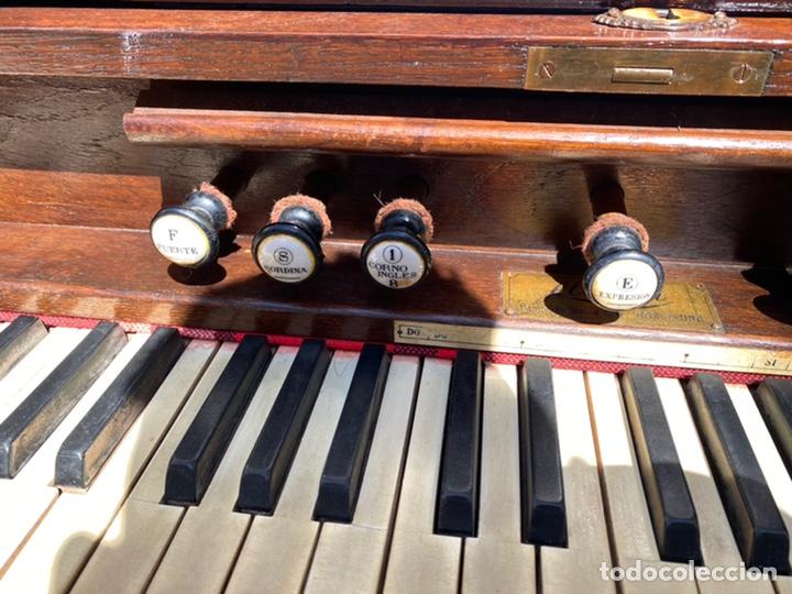 Instrumentos musicales: ORGANO ALBERDI - AÑO 1920 . Para restaurar Ver fotos - Foto 4 - 271815228