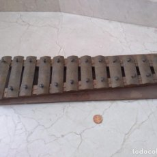 Instrumentos musicales: ANTIGUO INSTRUMENTO XILOFONO AUTENTICO. Lote 271879863