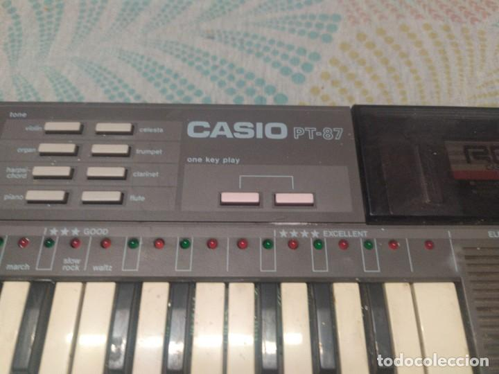 Instrumentos musicales: TECLADO CASIO PT87 FUNCIONANDO - Foto 3 - 271911913
