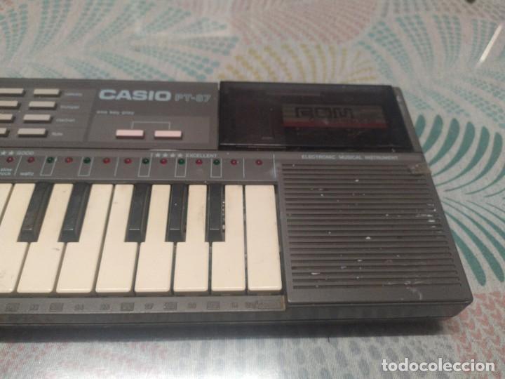 Instrumentos musicales: TECLADO CASIO PT87 FUNCIONANDO - Foto 6 - 271911913