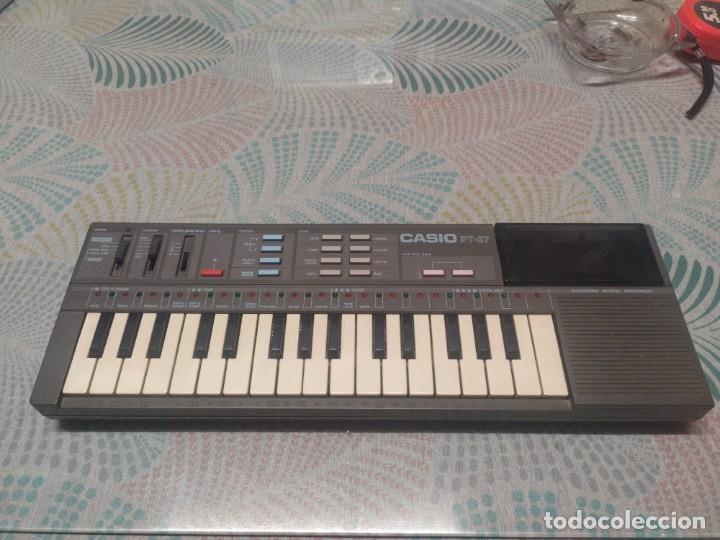 TECLADO CASIO PT87 FUNCIONANDO (Música - Instrumentos Musicales - Teclados Eléctricos y Digitales)