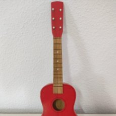 Instrumentos musicales: ANTIGUA GUITARRA DE MADERA. Lote 272424708