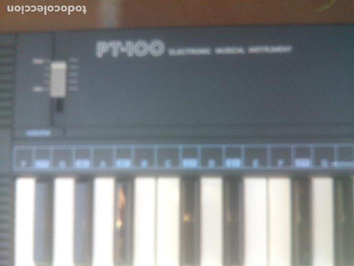 Instrumentos musicales: Piano retro Casio pt-100 excelente estado órgano en caja - Foto 3 - 272550253