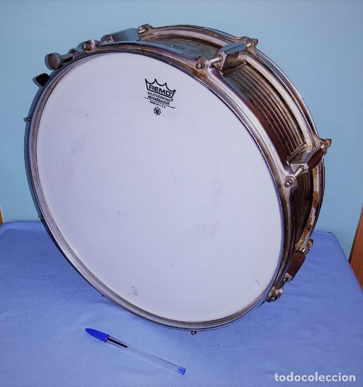 TAMBOR MARCA REMO WEATHERKIG AMBASSADOR MADE IN U.S.A. ORIGINAL MARCA USADA POR THE BEATLES (Música - Instrumentos Musicales - Percusión)