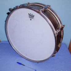 Instrumentos musicales: TAMBOR MARCA REMO WEATHERKIG AMBASSADOR MADE IN U.S.A. ORIGINAL MARCA USADA POR THE BEATLES. Lote 272703093