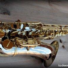 Instrumentos musicales: SAXOFÓN ALTO AMATI MIB / BRAVOUR / AABS83 EL MÁS ALTO DE GAMA .PROFESIONAL.. Lote 273151998