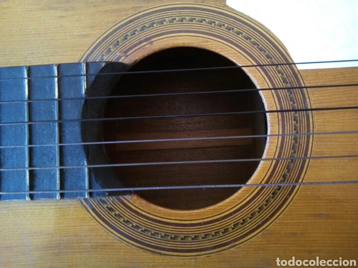 Instrumentos musicales: Magnífica guitarra española maciza. - Foto 4 - 273469378