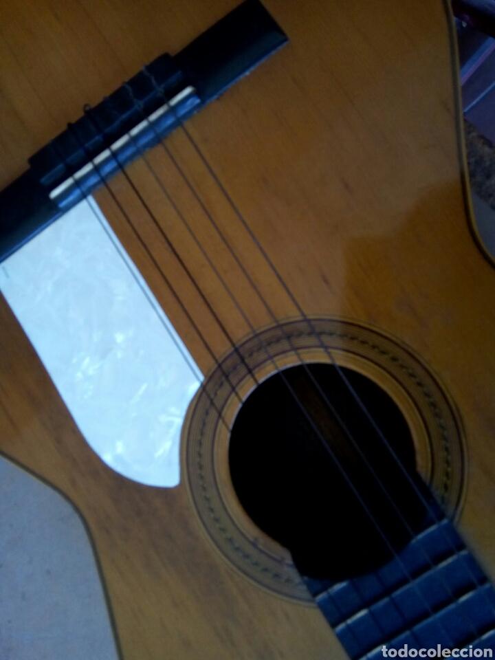 Instrumentos musicales: Magnífica guitarra española maciza. - Foto 6 - 273469378