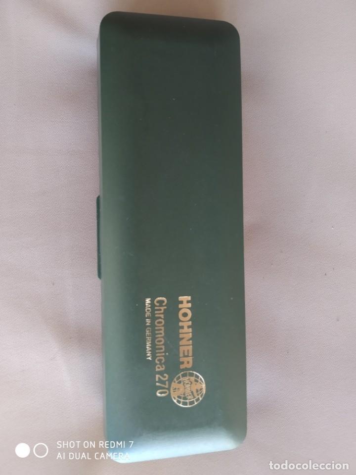 HARMONICA HOHNER. CHROMONICA 270 (Música - Instrumentos Musicales - Viento Metal)