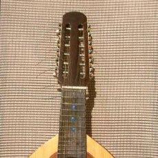 Instrumentos musicales: ANTIGUA BANDURRIA DE 12 CUERDAS - FABRICADA POR TALLER JUAN ESTRUCH BARCELONA - LUTHIERS - LAUD. Lote 274218253