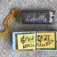Instrumentos Musicais: ANTIGUA MINIATURA ARMÓNICA DE BOCA ESTRELLA. Lote 274345253