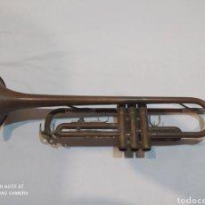 Instrumentos Musicais: ANTIGUA TROMPETA DE COBRE MARCA YAMAHA. Lote 275109913