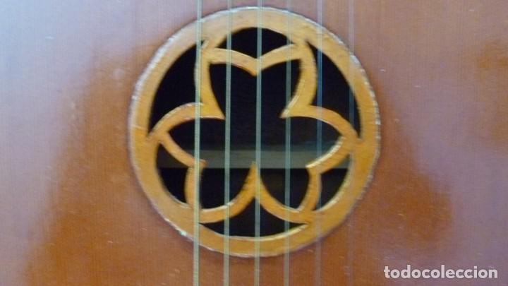 Instrumentos musicales: Raro laúd guitarra alemán - Foto 5 - 275285763