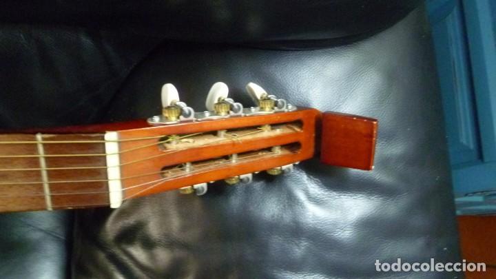Instrumentos musicales: Raro laúd guitarra alemán - Foto 8 - 275285763