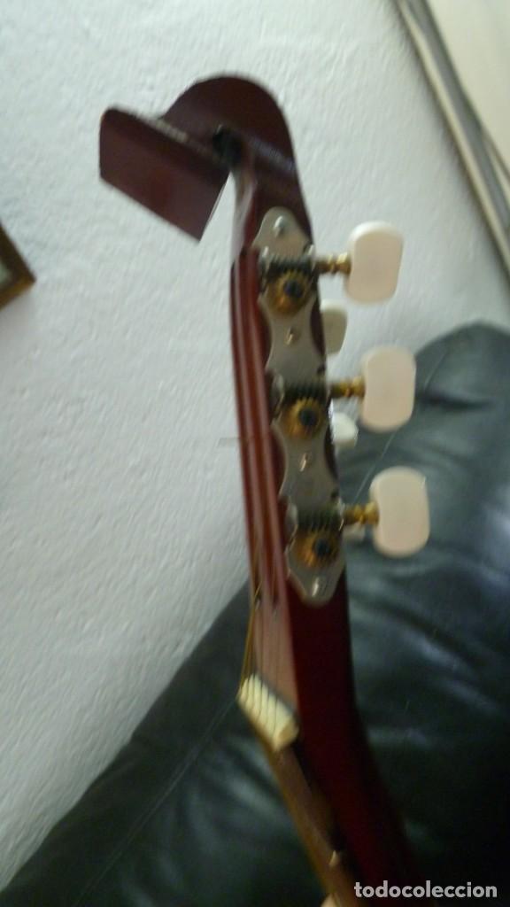 Instrumentos musicales: Raro laúd guitarra alemán - Foto 9 - 275285763