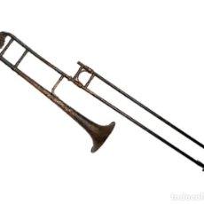 Instrumentos musicales: TROMBÓN DE LA CASA MONTSERRAT - BARCELONA P.S.XX. Lote 275495423