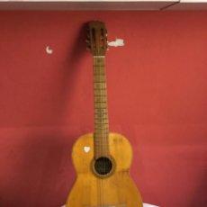 Instrumentos musicales: ANTIGUA GUITARRA JOSE MAS Y MAS PARA RESTAURAR.VER FOTOS. Lote 275852333